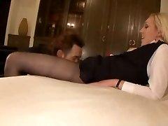 pantyhose stewardess fucked hard