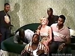 Black Gangbang Milky
