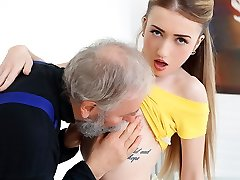 Empera in Old Man Penetrates A Fresh Babe - Aged-n-Young