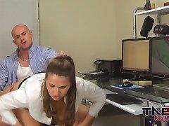 MILF Spys on Son in Show Hidden Webcam