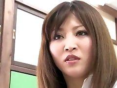 Crazy Japanese lady Yuna Shiina in Uber-sexy Couple, Close-up JAV clip