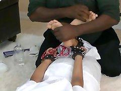 Bad Nurse Tickled