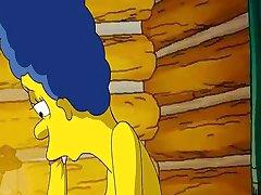 Ο όμηρος αγαπάει χτυπάει Marges σφιχτό ροζ