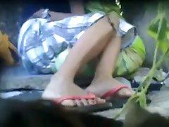 Desi Lesbians enjoying in Forest