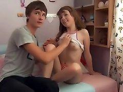 MRY - super hot teen gets fucked by boyfriend