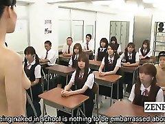 Podnaslov iznad njih Japanu nudistička student milf učitelj bendova