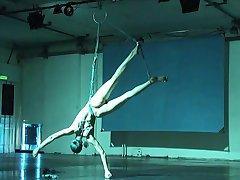 ballerina shibari self-bondage und suspension
