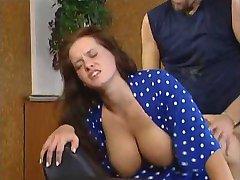 Sandra Brust in her second scene in Schmutzig Geil und Hemmungslos -FranzHalz-