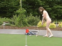 Public Nudity Peewee Golf