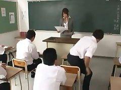 japanilainen opettaja perseestä mukaan hänen opiskelijoiden & opettajat 1