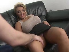blonde milf with big natural tits shaved pussy fuck