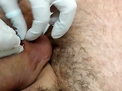 Piercing of the nuts