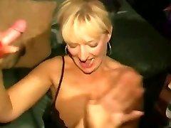 Sujo inglês puta - Bukkake parte 04
