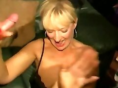 Dirty English slyna - Bukkake fest 04