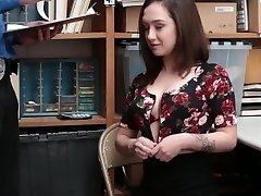 Shoplyfter - Slutty Teenie Attempted To Escape Gets Fucked Instead
