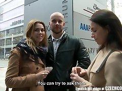 Hämmästyttävä Povekas Teini ja Hänen BF Saa Rahaa Julkista SEKSIÄ