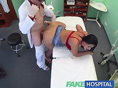FakeHospital Busty sexy mature MILF helps the doctor relieve some sexual stress