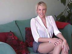 горячая блондинка