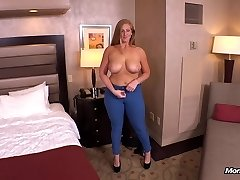 Ginger gets thick donk plumbed POV