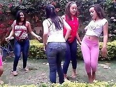 DOMINICAN TEENAGE WHORES DANCING