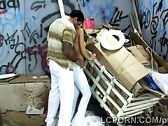 Gorgeous Mexican model works as prostitute in nasty alley