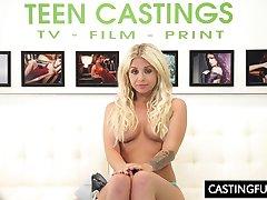 Knulla Jobbintervju För Teen Madelyn Monroe