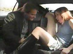 Beautiful Hooker spanking in the Car 1