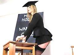 Holly Kiss Jerk Off Klasse für die Rechnungen Honige