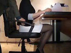 Sexy Secretary Hot Hidden Cam