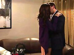 Boss seduces his secretary in the office