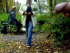 NV - Rus Public Risky FLASH Watching GIRLS 110