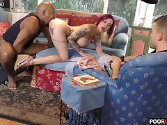Cuck witness his wife Anna Bell Peaks banging a BBC