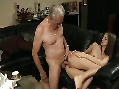 Old Guy Sodomizes Teen - YouTubePussy.com