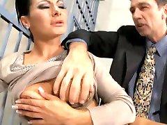 सैंड्रा रोमेन - जेल गुदा सेक्स