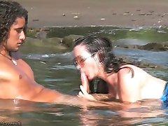 ניקי פריץ מציצה הארדקור & סקס על קוסטה ריקה, חוף