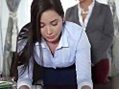 TeenCurves - Keisha Grey Baise Soumise Secrétaire Karlee Gris