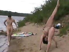 ヌードビーチ-操大量