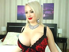Bimbo slut with huge boobs