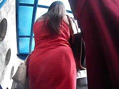 Ninfetinha novinha de vestidinho vermelho