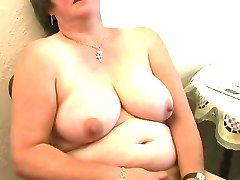 Chubby Hairy Mature Fingers