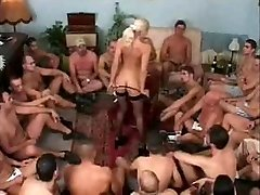 bukkake with hot milf
