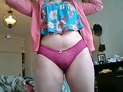 5:50 Orgasm Chubby blonde teen big boobs culona pendeja