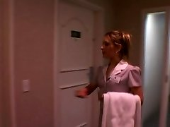 interracial couple bang hotel maid