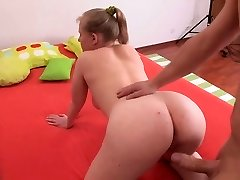 fatty doll with sensual baps in anal action