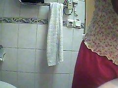 Hidden cam bathroom