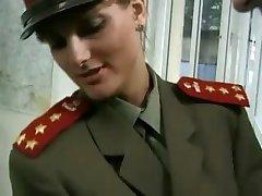 KGB Military Girl Fucks Recruit ...F70