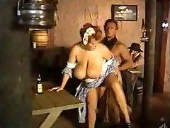 Maid huge tits