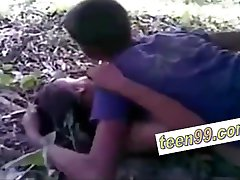Indian village friends outdoor sex