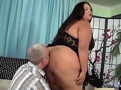 Fat latina BBW Lorelai Givemore Wide Blast Sex
