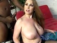 Mommy with Big Bosoms gets Pounded by Black Cock 8